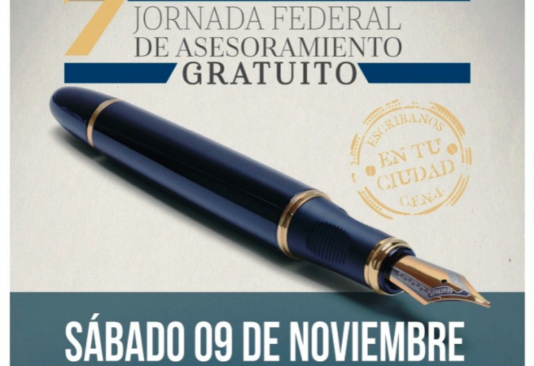 Escribanos de Iguazú se suman a jornada nacional de  asesoramiento  gratis del 9 de noviembre
