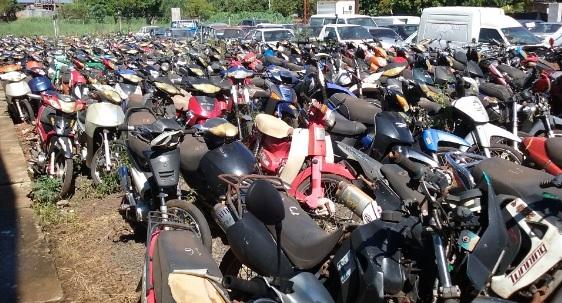 En el corralón de tránsito de Posadas hay retenidos 2.457 motos y 38 vehículos